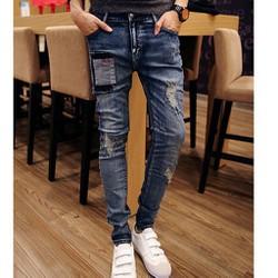 Mã số ĐN 1060 - Quần jeans nnam phong cách