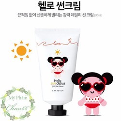 Kem Chống Nắng Pucca Love Edition Hello Sun Cream SPF 50+ PA+++