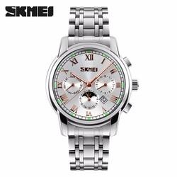 Đồng hồ nam Skmei phát quang phong cách doanh nhân TASK105
