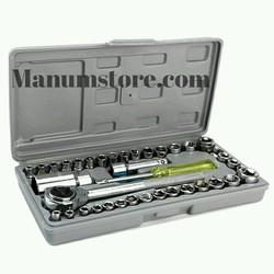 Bộ dụng cụ 40 món dùng để sửa oto và xe máy