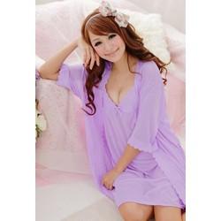 Đầm ngủ kèm áo choàng D31