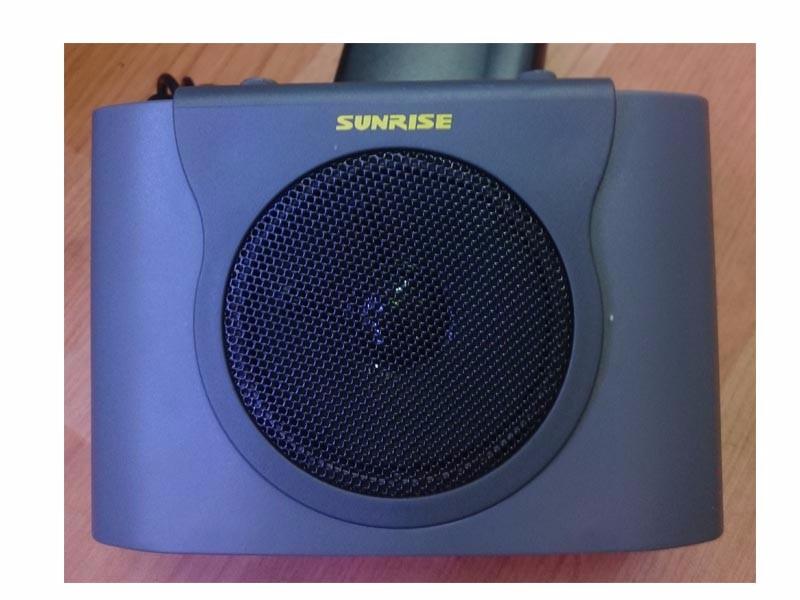 Máy trợ giảng - Mic giảng bài - Loa giảng dạy  SUNRISE SM -9110