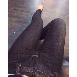 quần jeans nữ xước sành điệu cực đẹp