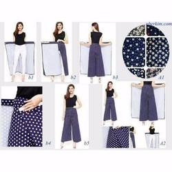 Quần váy chống nắng -tặng găng tay Let s Slim