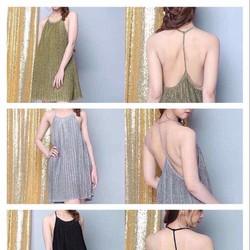 Đầm yếm hở lưng siêu sexy