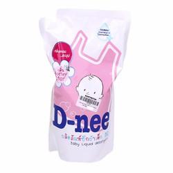 Giặt xả quần áo em bé D-nee 600ml Hồng