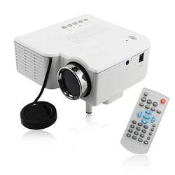 Máy chiếu Led Mini projector UC28 Plus màu trắng
