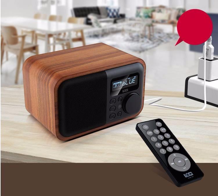Đồng Hồ Báo Thức Kèm Radio Loa Bluetooth Loci D90 14