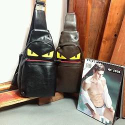 Túi da đeo chéo mẫu mới về hàng đảm bảo hình chụp thật của sản phẩm