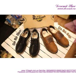 Giày da nam Doctor mẫu mới phong cách sành điệu GDNHK126