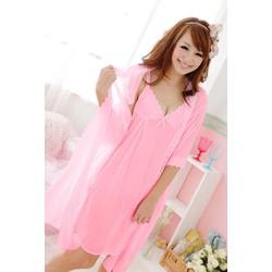 Đầm ngủ kèm áo choàng D34