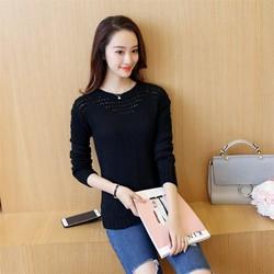 Áo len dệt kim nữ thời trang, kiểu dáng năng động-H11200574