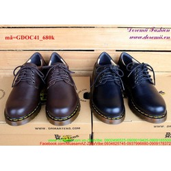 Giày Doctor nam cổ thấp mẫu mới phong cách GDOC41