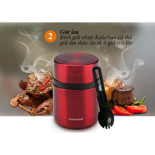 Bình ủ chín thức ăn Kahchan XFJ550- ĐEN