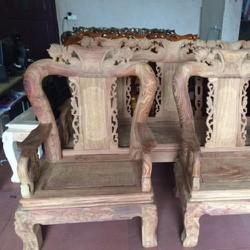 Bộ bàn ghế quốc đào Hương Vân