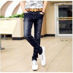Quần jean nam xanh đen wash