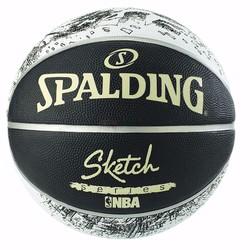 Bóng rổ Spalding NBA Sketch Outdoor size7