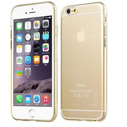 Ốp lưng Iphone 6 Plus silicon hiệu Rock trong suốt cao cấp