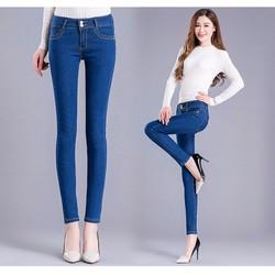 Quần Jeans nữ thời trang, phong cách Hàn Quốc -H11408617