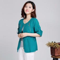 Áo khoác kiểu của nữ phong cách Hàn Quốc