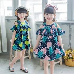 Váy đầm hở vai cực xinh