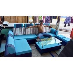 Trọn bộ sofa phòng khách 4 món giá 6,5 triệu
