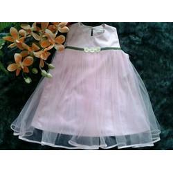 váy công chúa lala 2 màu hồng và trắng