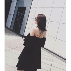 EMY DRESS - ĐẦM CÚP NGỰC TRỄ VAI