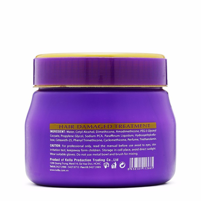 Hấp dầu Lacei Hair Damaged Treatment 500ml 3