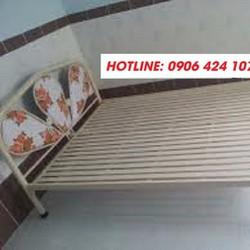 giường sắt đơn nhiều size, giao hàng miễn phí hcm