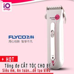 TÔNG ĐƠ Cắt Tóc cho Bé FLYCO 5802 Siêu êm An Toàn dễ Tạo kiểu