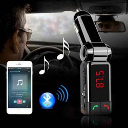 Kết nối bluetooth với điện thoại phát nhạc ra sóng FM trên ô tô