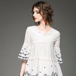 Đầm Suông Thêm Họa Tiết HR1130