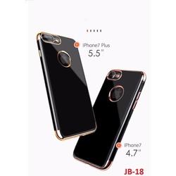 Ốp lưng dẻo JET BLACK IPhone 7, 7 PLUS