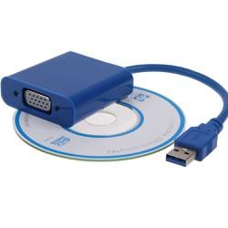 Cáp chuyển đổi tín hiệu USB to VGA
