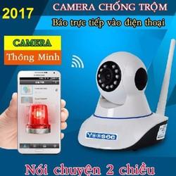 Camera giám sát Ip wifi  có chức năng báo động tới điện thoại
