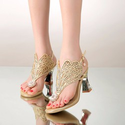 Giày sandal cao gót xỏ ngón