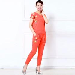 Bộ Đồ Mặc Nhà Nữ Cao Cấp Đủ Màu Có Cả Size XXXL TPPL120