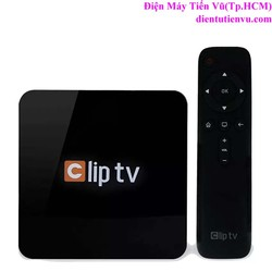 Hộp truyền hình internet ClipTV box , Đen