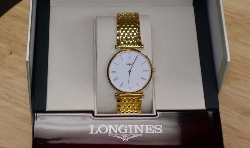 đồng hồ LONGINES. bản SALE nhật mã LG-18K 5