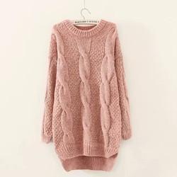 áo len nữ tay dài hàng nhập cao cấp dày đẹp y hình - pll811