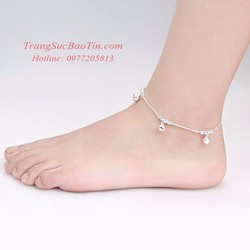 Lắc chân nữ Chuông