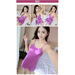 Váy ngủ silk thun mềm mịn VN90166