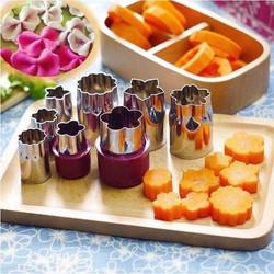 Bộ dụng cụ cắt tỉa hoa quả rau củ 8 món