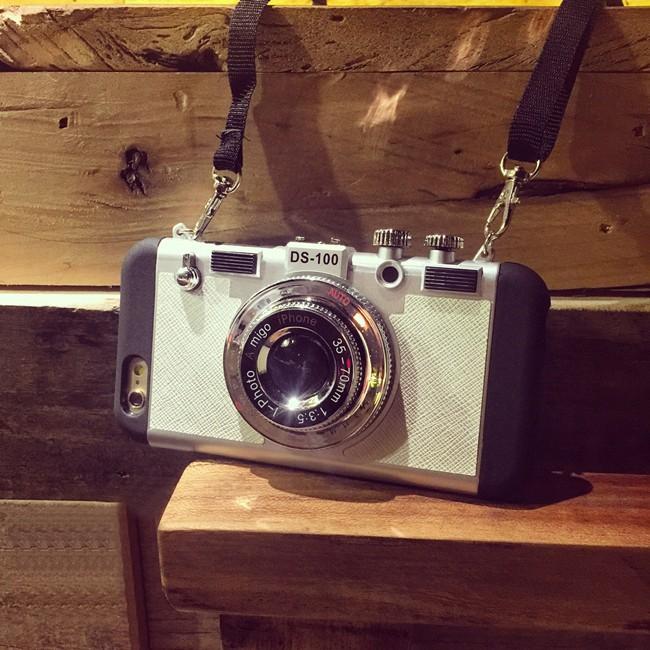 Shop Hàng Độc - Ốp lưng kiểu dáng máy ảnh amigo cho IP6 6