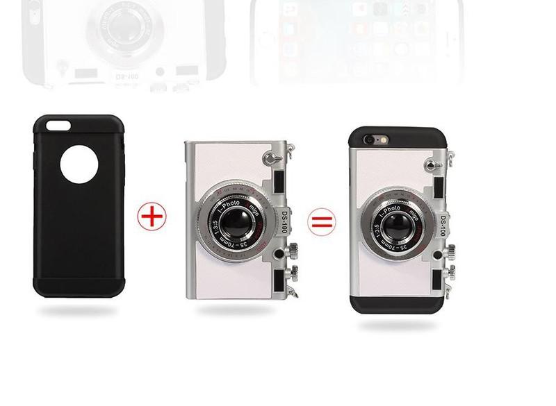 Shop Hàng Độc - Ốp lưng kiểu dáng máy ảnh amigo cho IP6 13