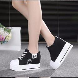 BM022D - Giày bánh mì đế độn phong cách Hàn Quốc