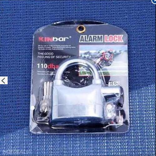 Ổ khóa báo động chống trộm AL ARM LOCK 110dba  Trắng