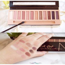 Phấn mắt LA Girl Beauty Brick Eyeshadow Collection NUDES