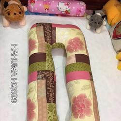 Quà tặng vợ bầu gối ôm Hahuma vải Hàn Quốc
